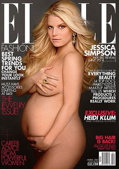 PREGNANT, UNWED SONGSTRESS MAKES MAGAZINE COVER.