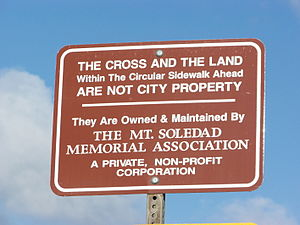 FATE OF MT. SOLEDAD CROSS MAY BE DECIDED BY SUPREME COURT.