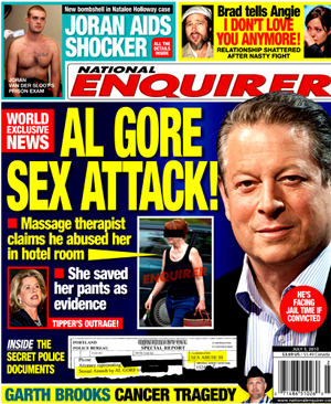 TRAVOLTA SEX SCANDAL BRINGS TO MIND ACCUSATIONS AGAINST GORE.
