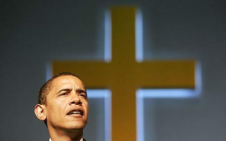 OBAMA LAIMS TO BE A CHRISTIAN, BUT HIS POLICIES ARE THOSE OF A 'RAVENOUS WOLF.'