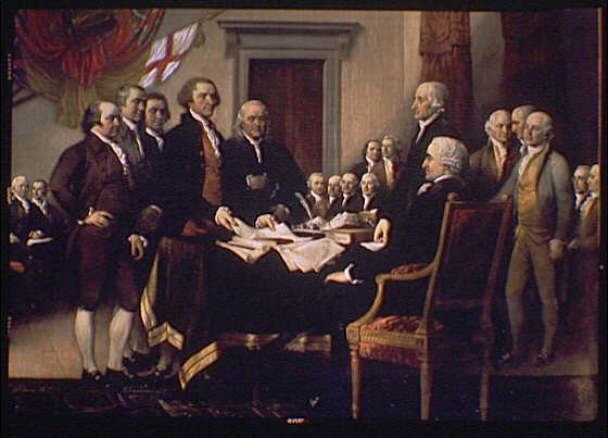 ALL 54 SIGNERS OF THE NATION'S FOUNDING DOCUMENT WERE MEN OF FAITH.