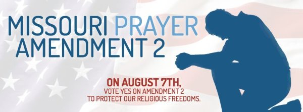 BALLOT MEASURE WOULD AFFIRM RIGHT TO PRAYER IN PUBLIC SQUARE.