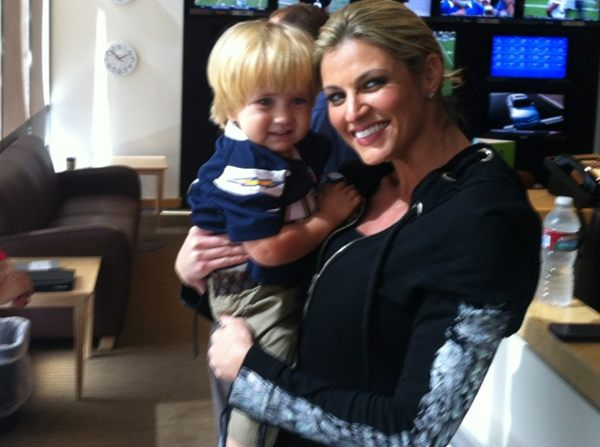 SPORTS PERSONALITY ERIN ANDREWS HAS USED HER BLESSING TO BLESS OTHERS, LIKE LITTLE LIAM HOUCK.