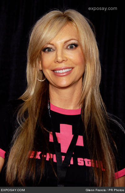 SHELLEY LUBBEN, THE FORMER PORN ACTRESS, THE BORN-AGAIN CHRISTIAN, FOUNDED 'PINK CROSS.'