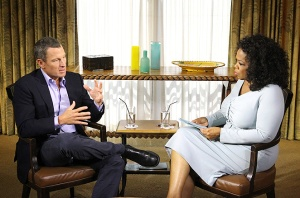 THE DSIGRACED CYCLIST SEEMED TO THINK THAT OPRAH COULD FORGIVE HIS SINS