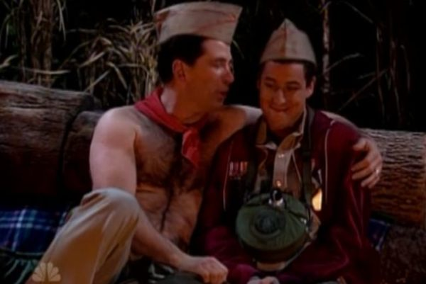 SNL SKIT, DEPICTING SCOUT LEADER 'GROOMING' INNOCENT SCOUT, OUTRAGED GAY COMMUNITY.
