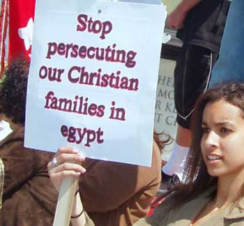 U.S. FOREIGN AID SHOULD NOT GO TO COUNTRIES, LIKE EGYPT, WHERE CHRISTIANS ARE PERSECUTED.