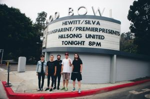 HILLSONG UNITED PERFORMED LAST NIGHT AT THE HOLLYWOOD BOWL.
