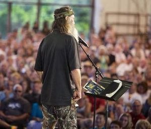 PHIL ROBERTSON SEEMS AN UNLIKELY MESSENGER OF THE GOSPEL.
