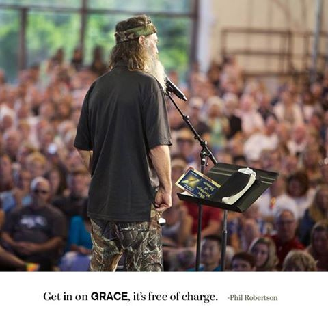 'DUCK DYNASTY' PATRIARCH, PHIL ROBERTSON, IS NOT ASHAMED OF THE GOSPEL.