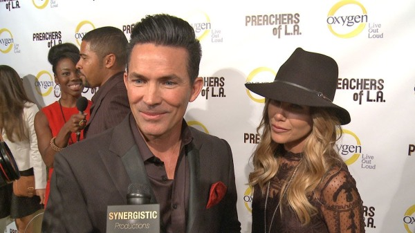 PASTOR JAY HAIZLIF AND WIFE CHRISTY GO HOLLYWOOD AT THE PREMIERE OF 'PASTORS OF L.A..'