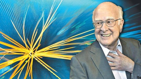 PETER HIGGS, CO-RECIPIENT OF THE 2013 NOBEL PRIZE IN PHYSICS, DEVELOPED THEORY FOR THE SO-CALLED 'HIGGS BOSON,' WHICH IS BETTER KNOWN AS 'THE GOD PARTICLE.'
