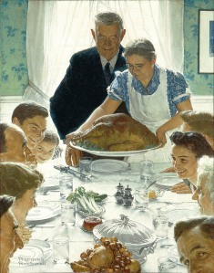 FOR MUCH OF THIS NATION'S HISTORY, THANKSGIVING WAS ABOUT GOD AND FAMILY, NOT ABOUT SHOPPING.