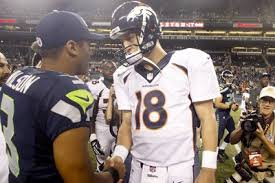 SUPER BOWL QAUTERBACKS RUSSELL WILSON AND PEYTON MANNING ARE PURPOSE DRIVEN CHRISTIAN ATHLETES.