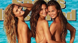 SPORTS ILLUSTRATED STOOPS TO SOFTCORE  PORNOGRAPHY ON COVER OF 2014 SWIMSUIT ISSUE.