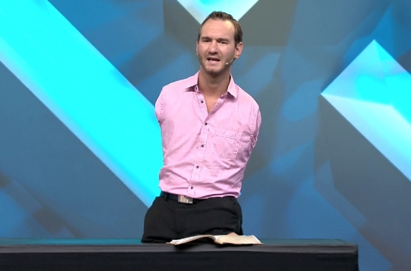 NICK VUJI IS FOUNDER OF 'LIFE WITHOUT LIIMBS,' A GLOBAL MINISTRY.