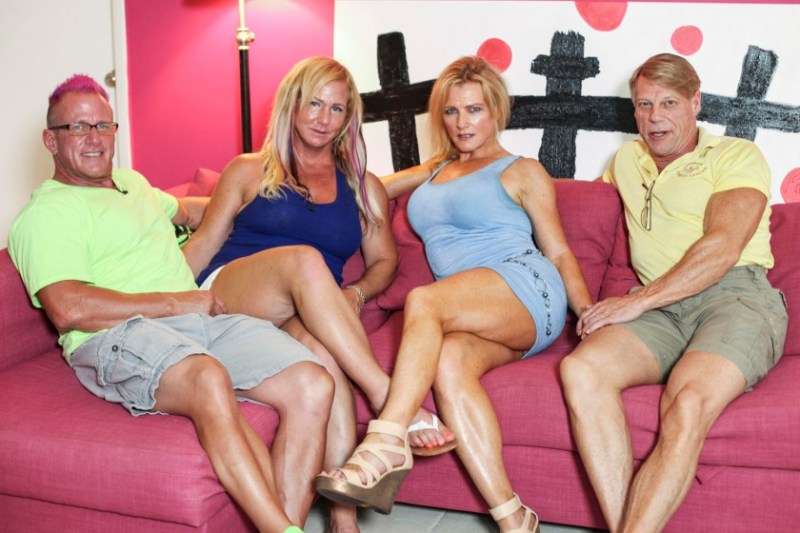 DEAN AND CHRISTY PARAVE PREPARING TO 'HOOK UP' WITH ANOTHER SUPPOSED CHRISTIAN COUPLE.