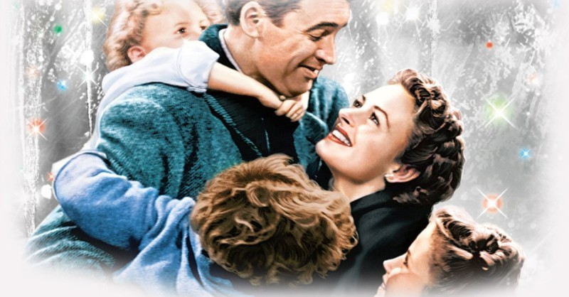 THE AMERICAN FILM INSTITUTE RANKS 'IT'S A WONDERFUL LIFE'  THE MOST INSPIRATIONAL U.S. MOVIE OF ALL TIME.